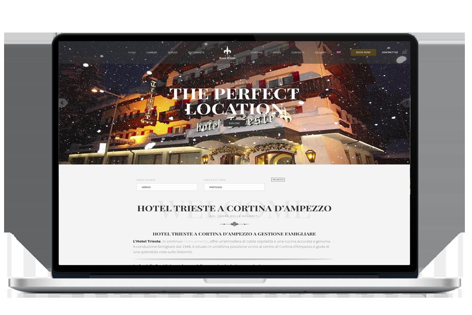 HOTEL TRIESTE CORTINA
